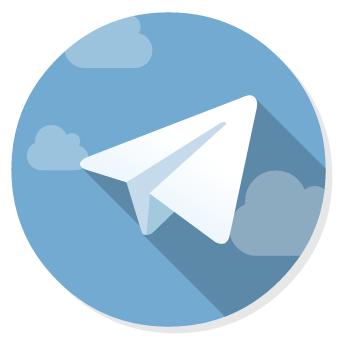 هیولای اسپاگتی پرنده لوگو تلگرام